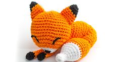 The Sleepy Fox Amigurumi Pattern is finally available! Sorry for taking so long!      Sleepy Fox Amigurumi Crochet Pattern (2013):   I origi...