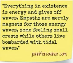 Energy, maybe its silly but it makes sense to me!