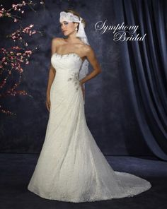 Symphony Bidal #S3323.  For more information on these gowns and others that we carry in our store please call toll free 1-800-344-2672. Or visit thewinneroutlet.com