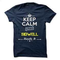 SIDWELL - keep calm - #gift for girlfriend #gift certificate