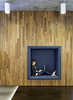 Cisco Offices / Studio O+A Always good to have a personal quiet space to work in