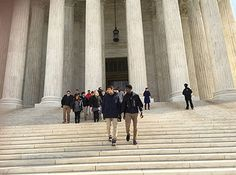 Ms. Vardi organized a student trip to the Supreme Court and the Capitol for Advanced Placement Comparative Government and Politics and American Government students to view government in action!