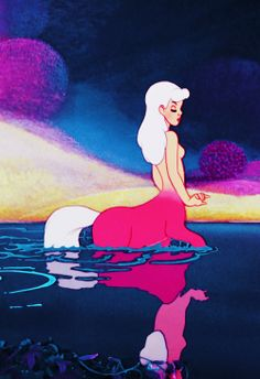 disney's fantasia c.1940- my favorite part of the movie. Girls getting ready to go out ;)