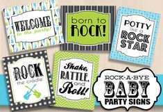 Hey, I found this really awesome Etsy listing at https://www.etsy.com/listing/180849707/8x10-party-signs-for-guitar-baby-shower