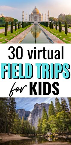 30 Virtual Field Trips for Kids to Take for Free When You're Stuck At Home! # 30 Virtual Field Trips for Kids Home Learning, Fun Learning, Teaching Kids, Learning Shapes, Teaching History, Virtual Travel, Virtual Tour, Educational Activities, Learning Activities