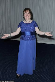 Singing sensation: Since placing second on BGT, Susan - nicknamed SuBo - has gone on to become on of the most successful talent show contestants of all time and is reportedly worth £12million