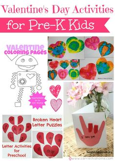 Day for kids valentineamp; Day for kids Valentines Day Activities for Pre-K Kids Valentine Crafts For Kids, Valentines Day Activities, Valentine Day Love, Holiday Crafts, Holiday Fun, Craft Gifts, Art For Kids, Tracing Shapes, Olympics