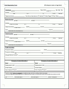 acs child care application form