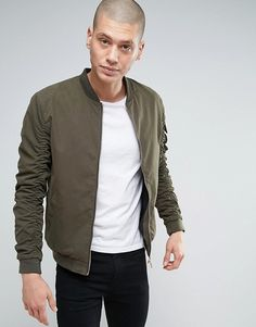 af680ebd Discover Fashion Online Green Bomber Jacket, Mens Fashion Wear, Jacket Price,  Woven Fabric