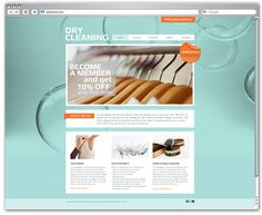 Laundry & Dry Cleaners - Flyer & Ad Template Design | Advertising ...