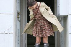 Vintage pattern    Closet Visit : Allison Miller by jeana_sohn, via Flickr