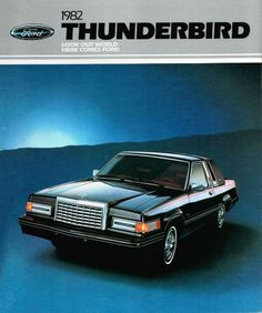 In 1982, the Thunderbird was in its final year for the formal, somewhat boxy design that debuted two years earlier. Never quite catching on with T-Bird fans, I always thought it would have been more appropriate as a top line trim level to the Fairmont, and would possibly have been more accepted. Who knows?