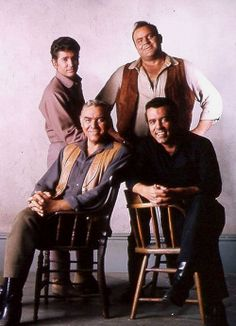 I am a Brazilian fan completely in love with Actor / Director / Singer Michael Landon will have more. Lorne Greene, Bonanza Tv Show, Michael Landon, Pernell Roberts, Tv Westerns, Star Pictures, Western Movies, Old Tv Shows, Le Far West