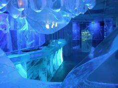 Absolut Ice Bar. Stockholm ¤ Sweden.