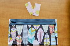 How to get *pointy* corners on your zipper pouches! - My Happy Haven...