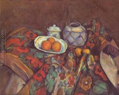 Still life with oranges Paul Cezanne Reproduction   1st Art Gallery