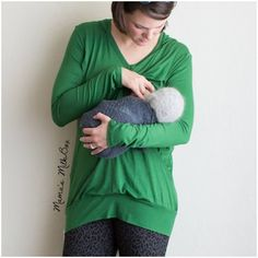 We love this classic breastfeeding top- a must have staple to any mama's wardrobe. Breastfeeding Fashion, Breastfeeding Clothes, Bump Style, Maternity Fashion, Stitch Fix, Must Haves, Classic, Sweaters, Inspiration