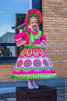 Купить Дымковская Игрушка - разноцветный, дымковская игрушка, русский костюм, русский сувенир