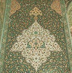 Interior of the Shrine of Emam Reza, Iran