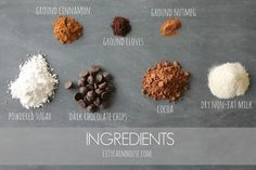 The BEST Hot Chocolate Recipe-DIY Spiced Dark Hot Chocolate Ingredients {City Farmhouse}