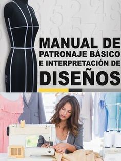 Manual de Patronaje Diseño de Moda #costura #patrones #moldes #patterns #sewing #sewingpattern #sewingtutorial Sewing Patterns Free, Free Sewing, Dress Patterns, Singer Tradition 2250, Sewing Clothes, Diy Clothes, Sewing Hacks, Sewing Projects, Sewing Courses
