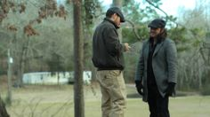 Sonny Marler Director and Clayne Crawford behind the scenes of Tinker