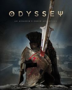 Odyssey Fantasy Armor, Sci Fi Fantasy, Assassin's Creed Videos, Spartan Warrior, Spartan Helmet, Warriors Wallpaper, Assassins Creed Odyssey, God Of War, Fantasy Books