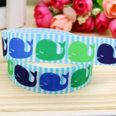 Mehr Bänder-Informationen über 7/8 ''freies Verschiffen Whale druckte Grosgrainband Grosgrainbandhaar Bogenkopfbedeckungen Party Deko Großhandel OEM 22mm H4752, hochquaitative decor  von Global Ribbon&Accessories Studio finden Sie auf Aliexpress.com