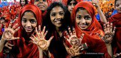 We love Oman - ragazze colorate, con hennè