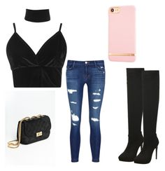 """""""Untitled #20"""" by angelxxmarie on Polyvore featuring Boohoo, J Brand and Richmond & Finch"""