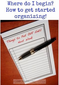 Combining my love for post it notes and procrastinating. Clutter Organization, Household Organization, Home Office Organization, Organizing Your Home, Organization Ideas, Organizing Tips, Organising, Storage Ideas, Getting Rid Of Clutter