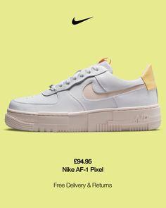 Nouveau Logo, 1 Pixel, Nike Af1, Orange Fashion, Nike Air Force, Trainers, Sneakers Nike, Fashion Design, Shopping