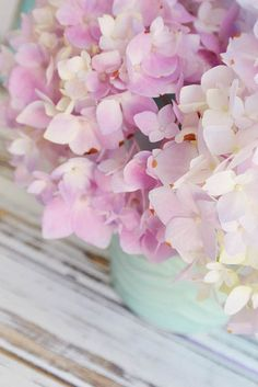 Lavender Hydrangeas by such pretty things on Flickr.