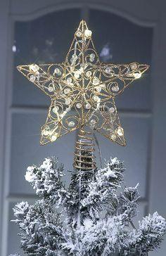 Led latvatähti Led star for Christmas tree