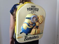 Minions rygsæk til børn - Bananas - Fast lav pris