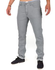 Active Jeans Grau aus Bio-Baumwolle #vegan #veganemode #fairfashion Jeans, Suits, Denim, Shopping, Fashion, Vegan Fashion, Trousers, Cotton, Outfits