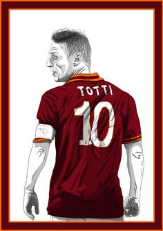 Forza27 » Francesco Totti by Barry Masterson