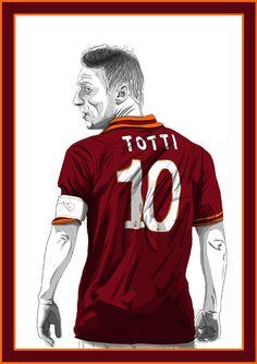 Forza27 » Francesco Totti by Barry Masterson