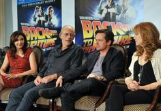 A Back to the Future Reunion? #BacktotheFuture #MichaelJFox #Doc #MartyMcFly
