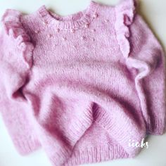Jumper Patterns, Baby Knitting Patterns, Knitting Designs, Baby Patterns, Crochet Baby, Knit Crochet, Style Baby, Little Fashion, Knitting For Kids