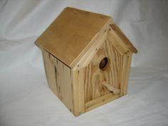 cedar siding birdhouse 1
