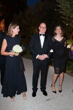 MYROYALS &HOLLYWOOD FASHİON: Monaco Royal Family attended a fundraising dinner for the new national museum at the Villa Paloma in Monaco-Princess Caroline, Prince Albert, Charlotte Casiraghi