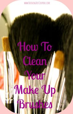 How To Clean Your Make Up Brushes *Get more FRUGAL Articles, tips and tricks from Raining Hot Coupons here* How to Easily Clean your Washing Machine! How to Easily Store Jewelry! How to Make Your Lettuce Last Much Longer! (Very Easy Tip) How to Get Super Silky Shaved Legs without Using Shaving Cream! 4 FREE and Easy [...]