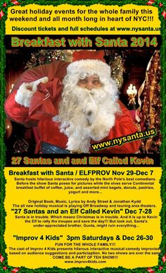 Fun shows for the whole family www.nysanta.us