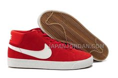 http://www.japanjordan.com/nike-blazer-mid-suede-mens-red-white-shoes.html NIKE BLAZER MID SUEDE MENS 赤 白 SHOES 格安特別 Only ¥7,598 , Free Shipping!