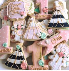 Boho themed cookies Boho cookies Birthday cookies