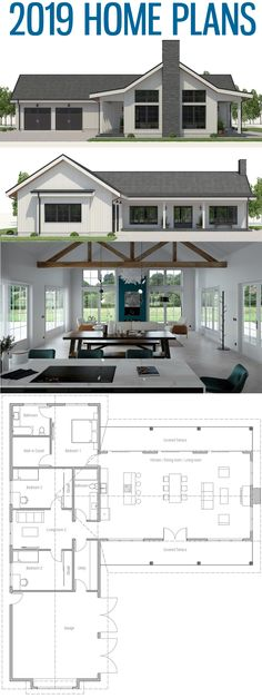 House Designs, Home Plans, Floor Plans, New Homes #housedesign #adhouseplans #newhomes