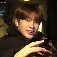"""""""hey, please stop. i don't really like being filmed while texting with my girlfriend. Jaehyun Nct, Nct 127, Jung Yoon, Valentines For Boys, Jung Jaehyun, K Idol, Asian Boys, Kpop Boy, Boyfriend Material"""