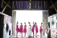 Something cool about brides with pockets, kick *** bridesmaids, and a barn. Check it out.    http://blog.nathanieledmunds.com/2009/08/08/beth-and-dave/