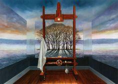 Neil Simone, 1947 | Visionary Surrealist painter